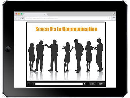 Seven C's to Communication